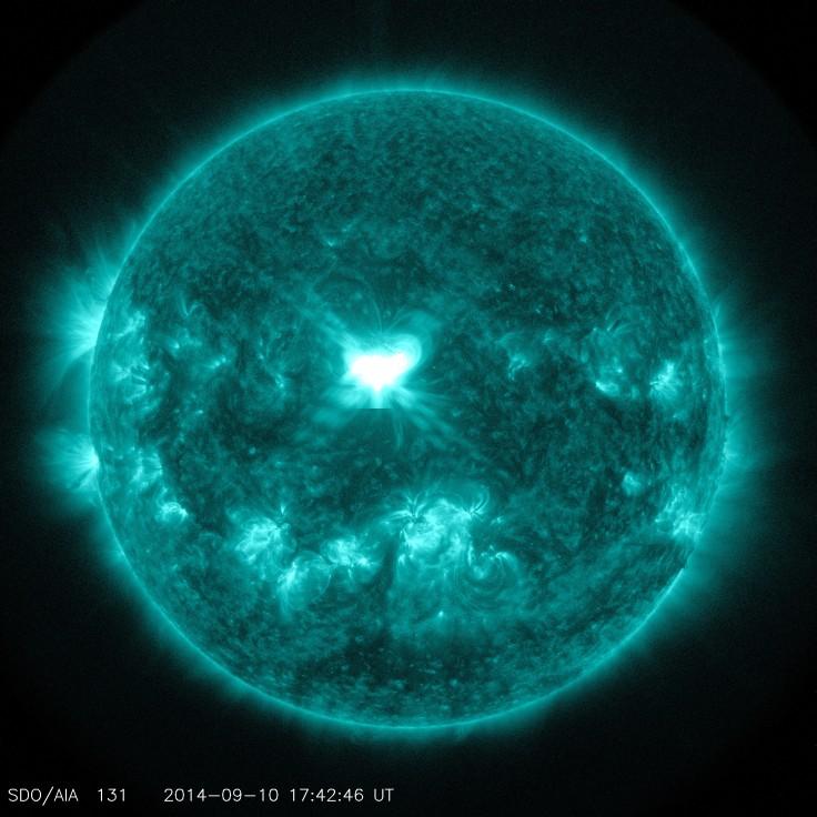 9-10-14 solar flare