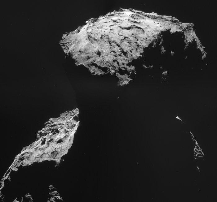 Philae's Landing site. Image Credit: ESA/Rosetta/NAVCAM – CC BY-SA IGO 3.0