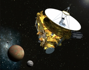 New Horizons approaching Pluto. Image Credit: Johns Hopkins University Applied Physics Laboratory/Southwest Research Institute (JHUAPL/SwRI)